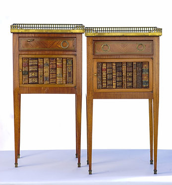 19th c. French Marble Top Side Tables