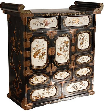 19th c. Japanese Lacquered Cabinet