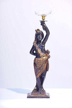 Blackamoor Statue of Woman