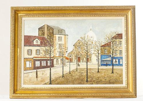 Louis Peyrat Oil Painting
