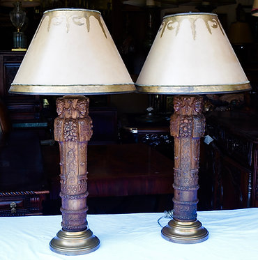18th c. French Fragment Lamps
