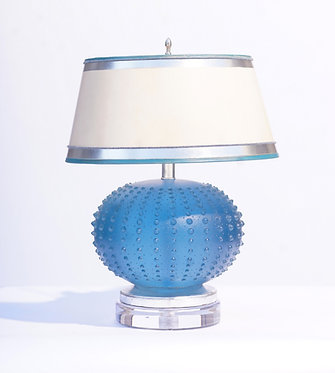 20th c. French Art Glass lamp