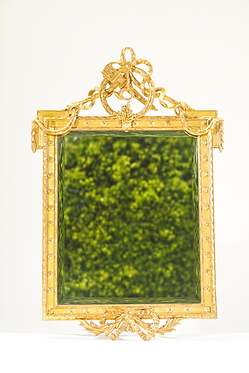 19th C. Carved Giltwood Italian Mirror