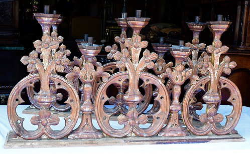 Carved Candlesticks