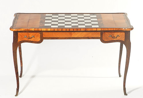 19th c. French Tric-Trac Table