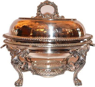 1900's Sheffield Silver Dish