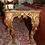Thumbnail: 19th c. French Giltwood Console with Marble Top