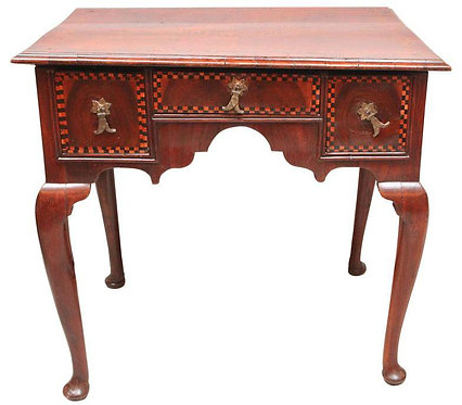 19th c. English Low-Boy End Table