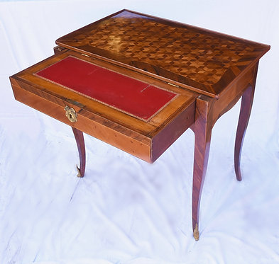 19th c. French Inlaid Writing Table / Desk