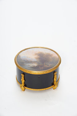 19th c. French Bronze Mounted Box