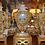 Thumbnail: 19th c. French Onyx Bronze Clock Set