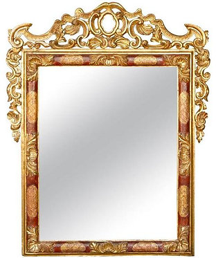 18th c. Italian Giltwood Mirror