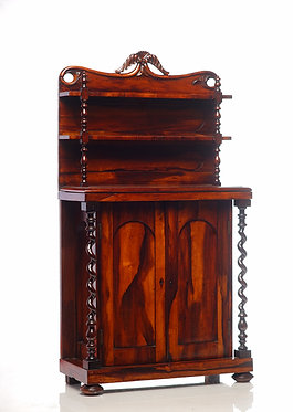 19th c. English Miniature Cabinet