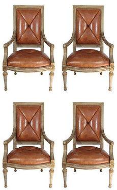 20th c. Hendrix Allardyce Arm Chairs