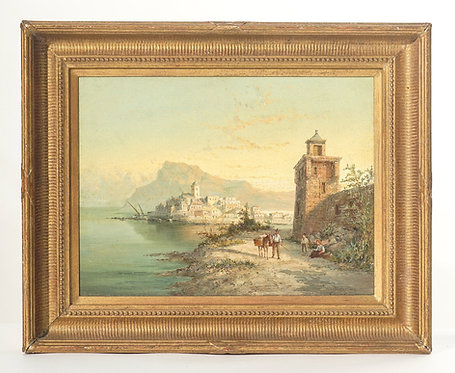 19th Century Signed Listed Artist Wm. R. Dommeson