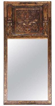 18th c. Italian Gesso Giltwood  Mirror