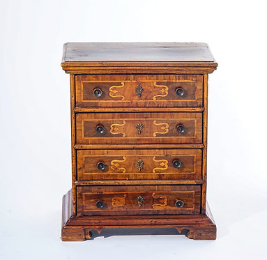 18th C. Italian Tuscan Inlaid Commode