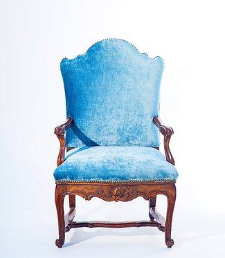 18th c. Venitian Walnut Armchair