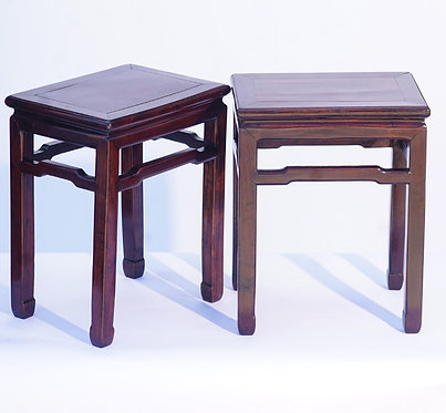 19th c. Chinese end tables