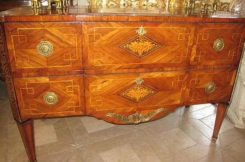 19th c. Italian Inlaid Classical Commode