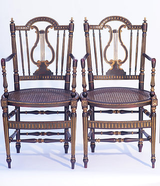 19th c. French Arm Chairs
