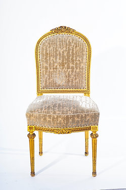 19th c. French Pair of giltwood Chairs