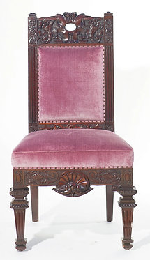 19th c. European Carved Side Chair