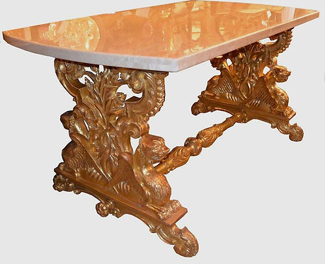 19th c. English Giltwood Table