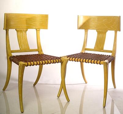 20th c. Klismos Form Side Chairs