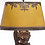 Thumbnail: Winged Cherub carved walnut lamps