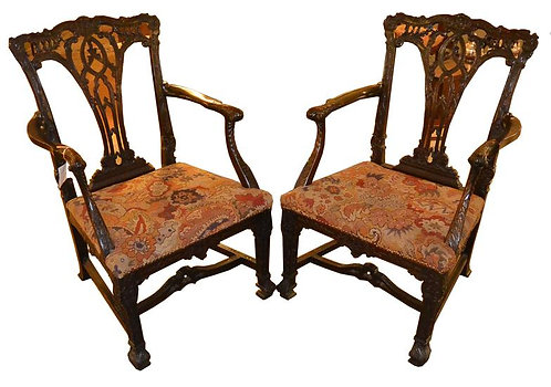 19th c. English Armchairs