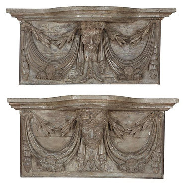 19th c. French Wall Mounted Consoles