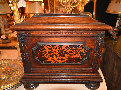 19th c. Italian Rosewood Oversized Box