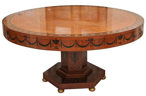 19th c. Edward Caldwell Dining Table