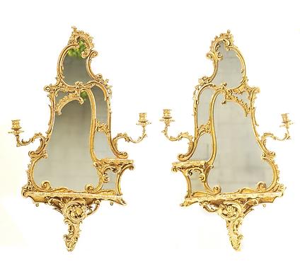 19th c. French Girondole Mirrors