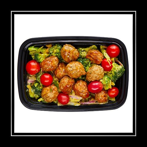WEEKLY SPECIAL Meal Prep - Vegetarian Boulettes & Veggies