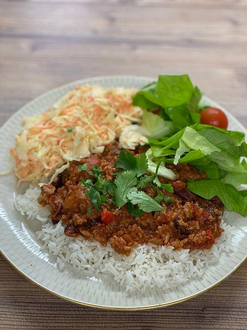 Friday, 23 October: Chili con Carne OR Chili con Veggies