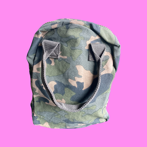 Fluf Camouflage Lunch Bag