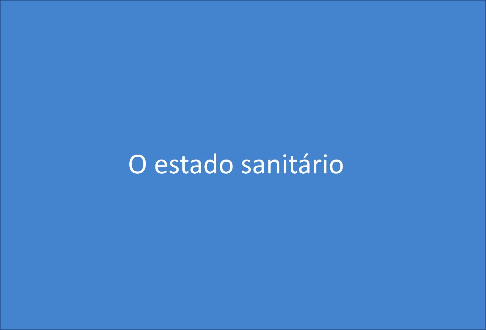 Estado sanitário