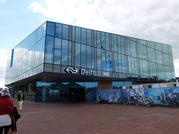 デルフトの駅