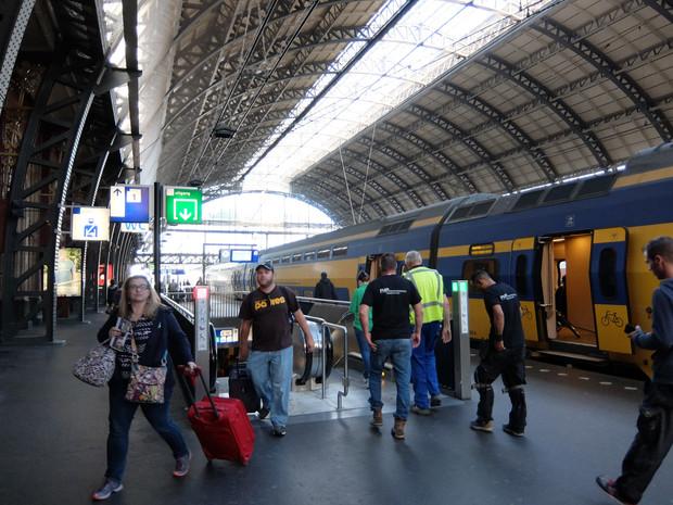 アムステルダムからブリュッセルへ
