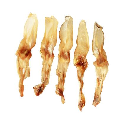 Kaninchenohren (9 bis 10 Stück - 250g - ca. 20cm)