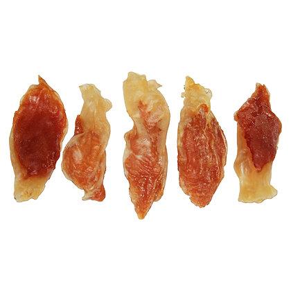Kaninchenohren mit Hühnerfleisch (ca. 9 Stück - 100g - 8 bis 9 cm)