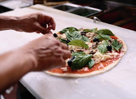 Friday Night Cauliflower Pizza