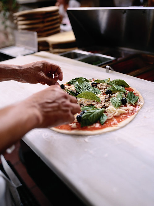 A pizza party for grown ups with Alexander