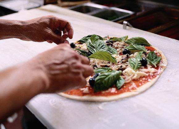 Mini Pizza Calzones