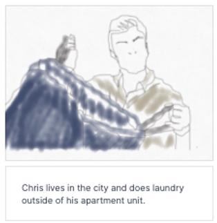 Storyboard Image - Laundry