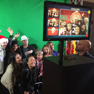 Green Screen Office Party Rental