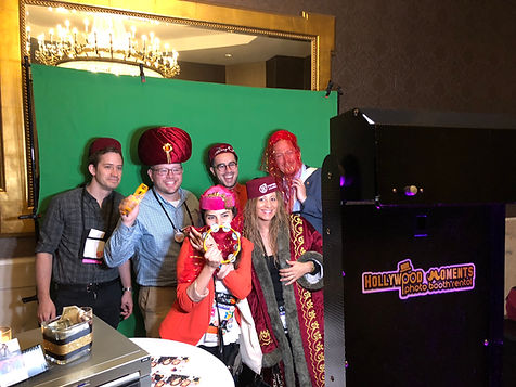 New jersey green screen photo booth
