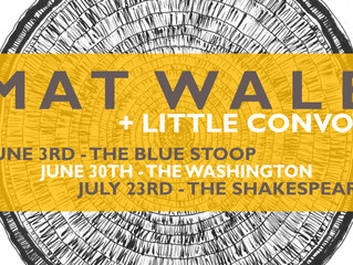 Additional '2Q17' dates with Little Convoy added